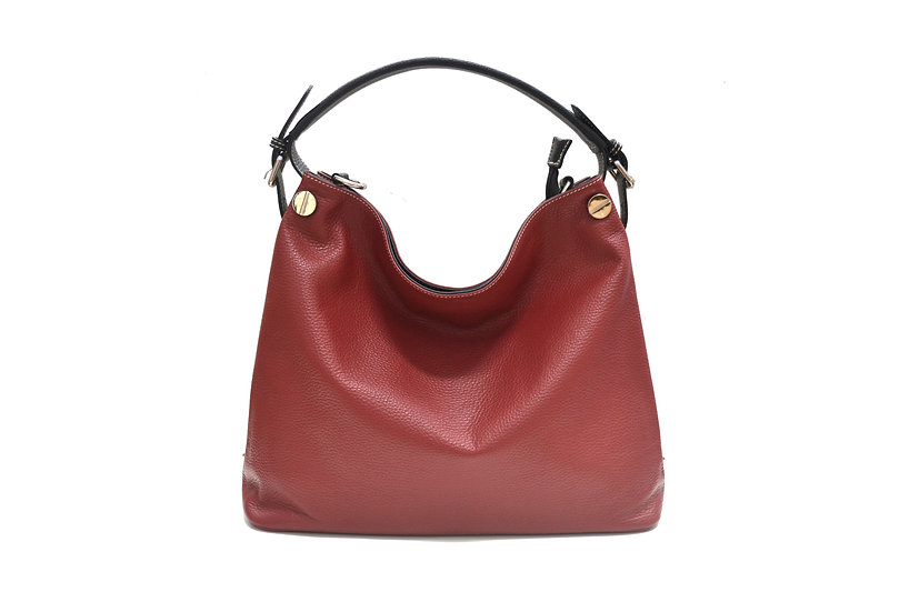 VERA PELLE MADE IN ITALY LEATHER BAG