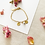 Thumbnail: Bracelet 2 médaillons 8mm + perle