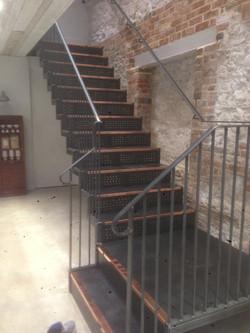 Artisan Cafe Staircase