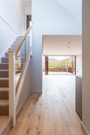 Staircase, view to outside