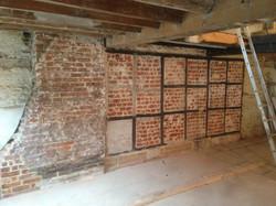 Artisan Cafe bare brick