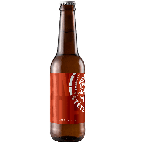 Bière ambrée - La Tête Haute