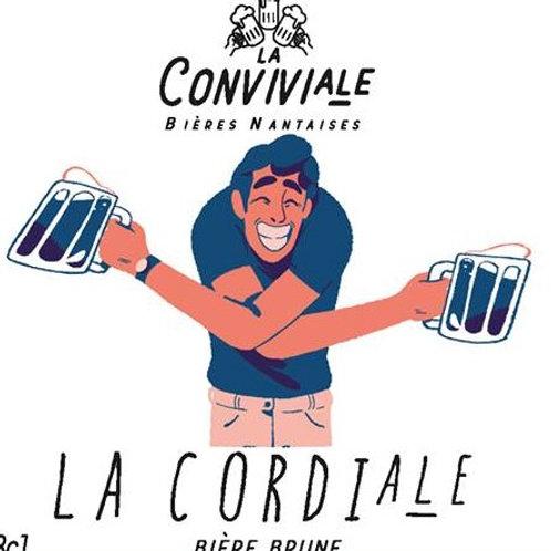 Bière brune artisanale bio - La cordiale