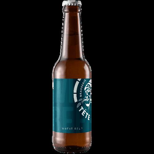 Bière Wheat (blanche) - La Tête Haute