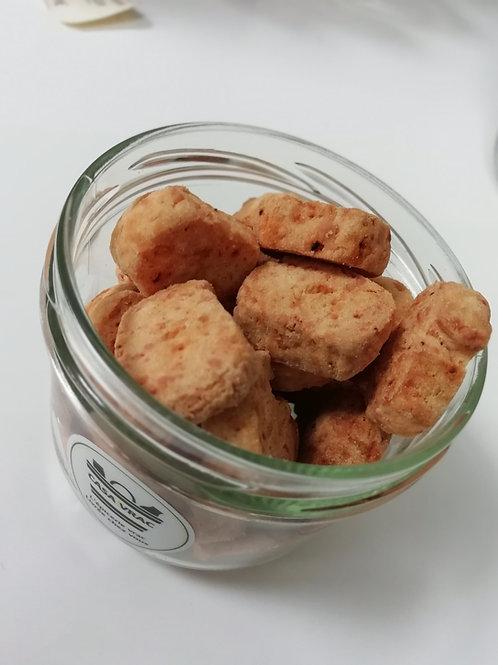 Sablés Emmental au piment d'Espelette AOP - Roul'Galettes