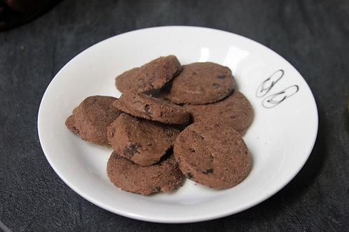 Biscuit cacao et pépites de chocolat bio