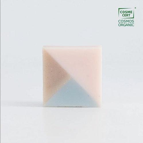 Savon Facette surgras coco, sésame, argile, rhassoul - Ciment Paris