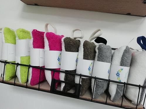 Éponge lavable en coton bio