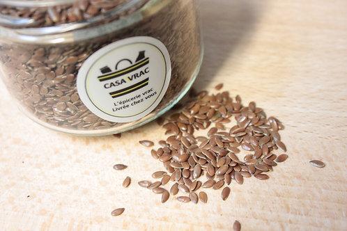 Graine de lin brun bio