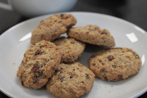 Biscuit chocolat noisette sans gluten et vegan bio