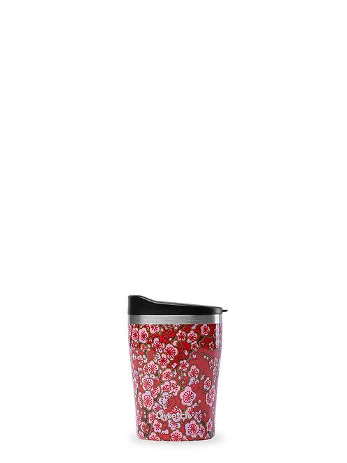 Mug isotherme en inox 240 ml FLOWERS - Qwetch