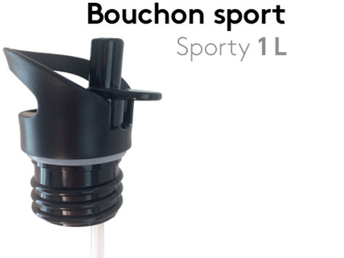 Bouchon sport pour gourde Sporty 1L