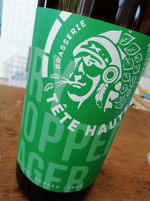 Bière Dry Hopped Lager blonde - La Tête Haute