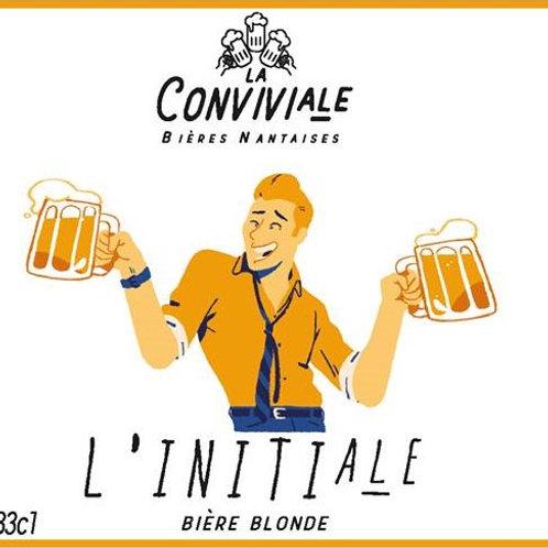 Bière blonde artisanale bio - L'Initiale