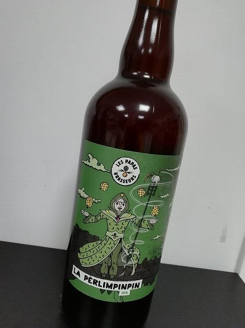 Bière IPA artisanale bio - La pèrlimpimpin