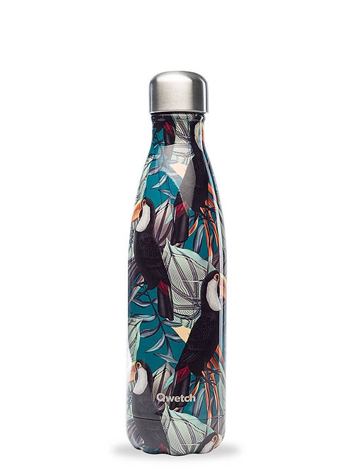 Bouteille isotherme en inox 500 ml TROPICAL Toucan - Qwetch