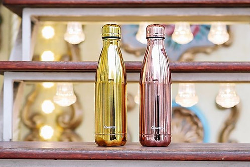Bouteille isotherme en inox 500 ml GOLD - Qwetch