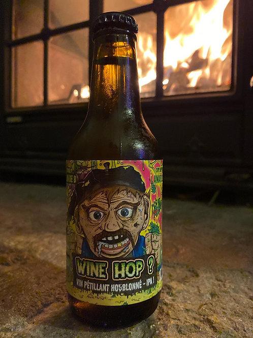 Wine hop ? Vin pétillant houblonné - IPA