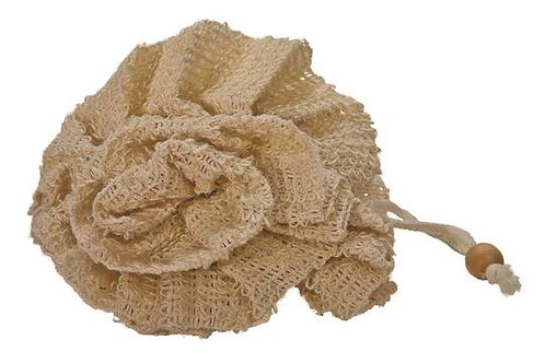 Fleur de bain en sisal