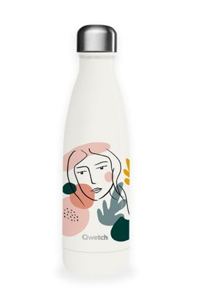 Bouteille isotherme en inox 500 ml WOMAN - Qwetch