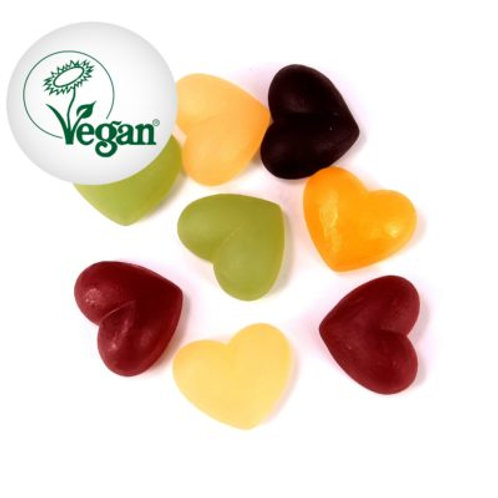 Coeurs gélifiés vegan bio