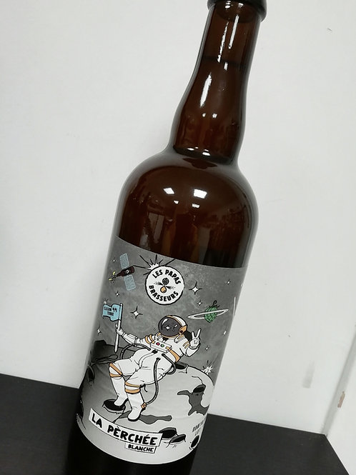 Bière blanche artisanale bio - La perchée