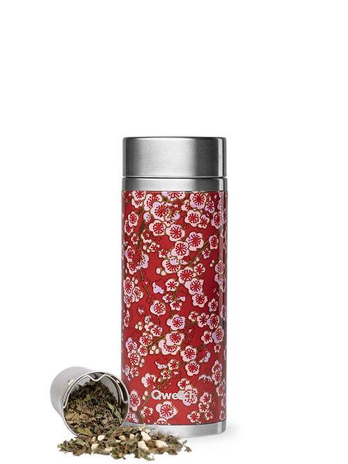 Théière isotherme en inox 400 ml FLOWERS - Qwetch