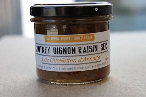 Chutney Oignon raisin sec