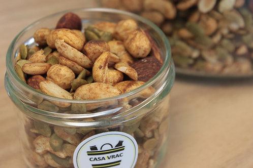 Méli-mélo de graines toastées au Tamari - bio