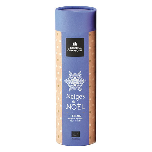 Neiges de Noël - tube carton 50 g