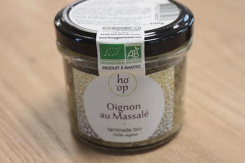 Tartine Oignon au Massalé bio