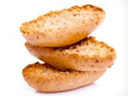 Petits pains grillés d'épeautre - bio