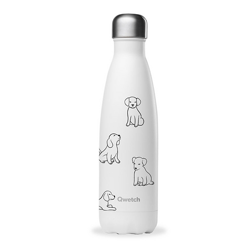 Bouteille isotherme en inox 500 ml PRETTY DOGS - Qwetch