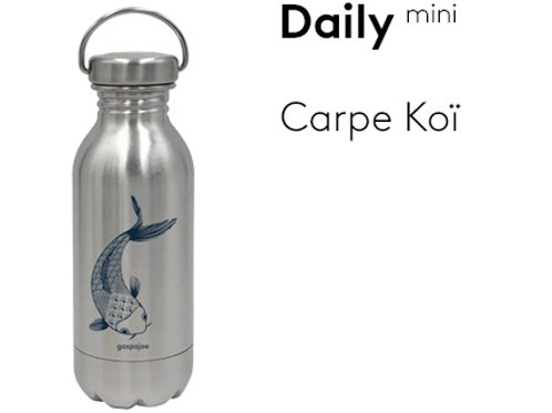Gourde inox simple paroi Daily 330 ml - Carpe koï