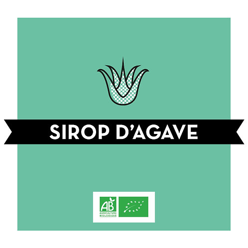 Sirop d'agave - bio