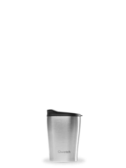 Mug isotherme en inox 240 ml  - Qwetch