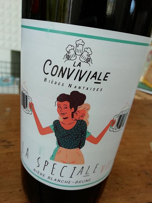 La spéciale V1.0  Dunkelweizen - Bière blanche-brune artisanale bio