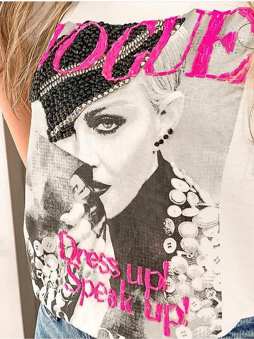 T-shirt Vogue Madona