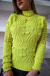 Blusa tricô Lima