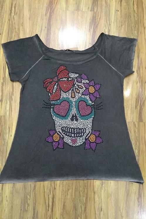 T-shirt Caveira