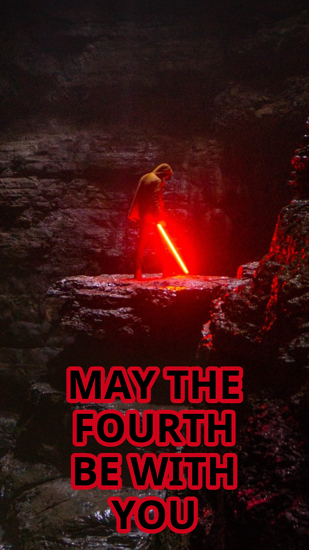 May the Fourth be with you social media template