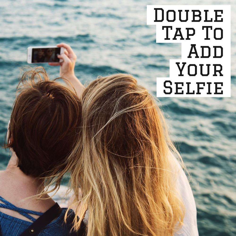 Selfie social media template