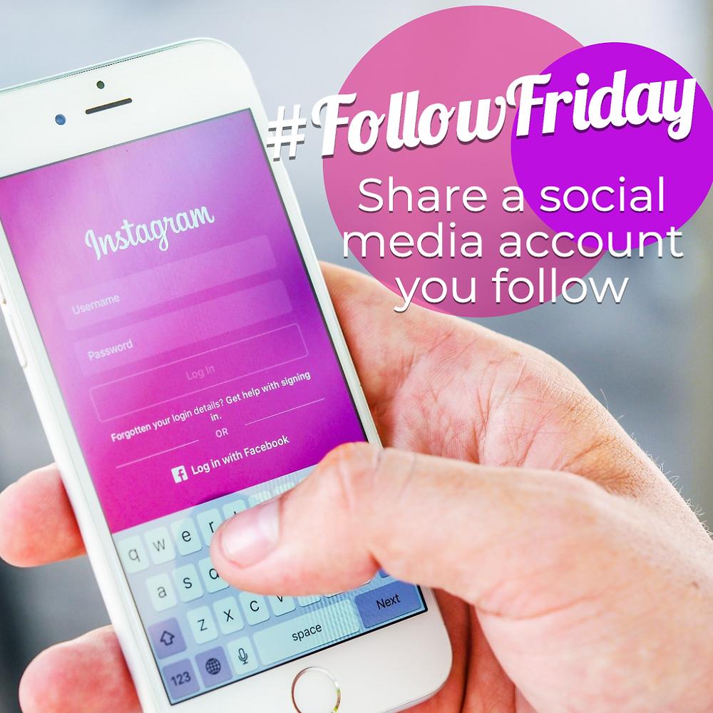 Follow Friday social media template