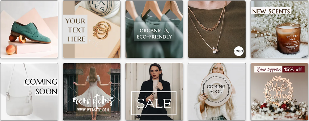 retail and e-commerce business Facebook ad templates