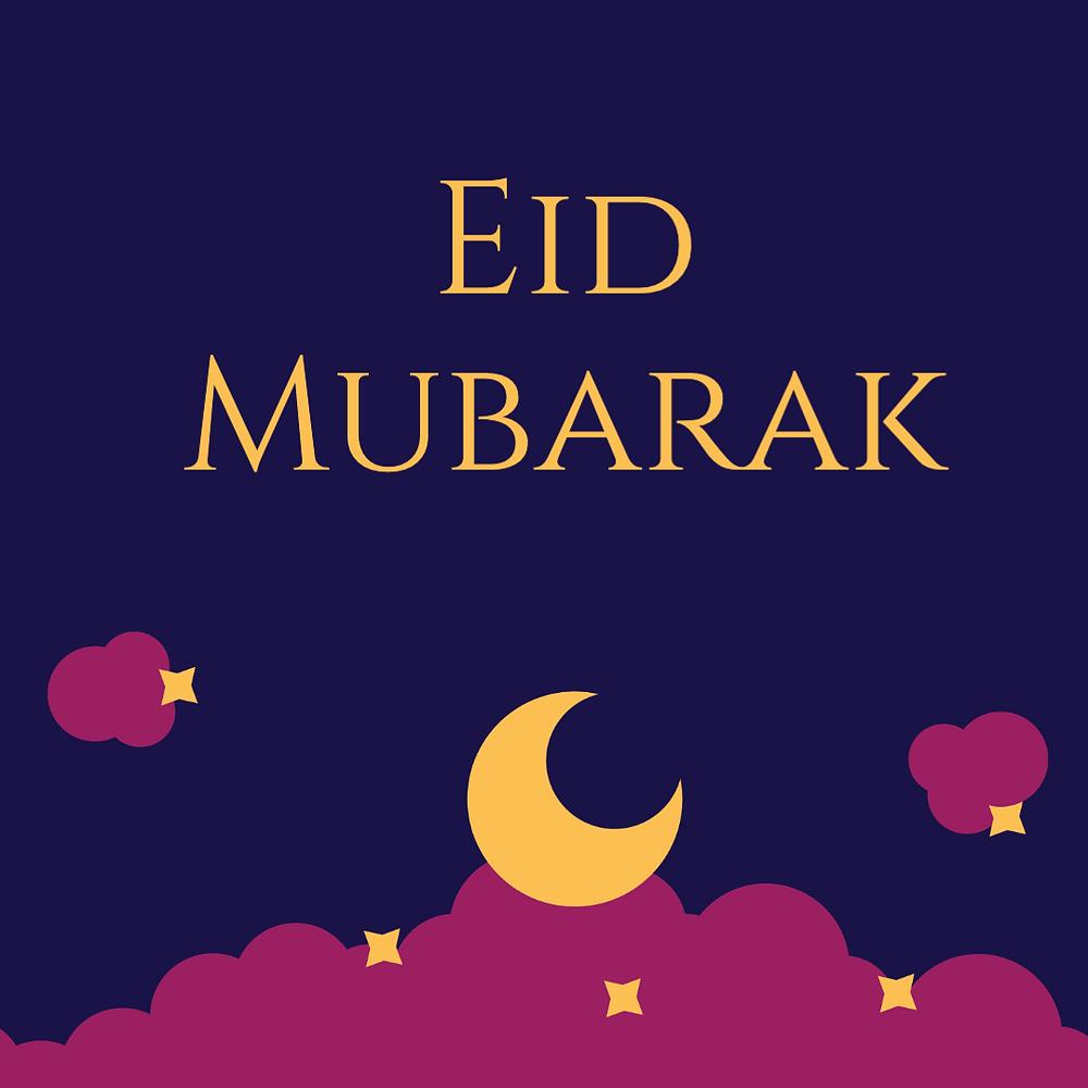 Eid Mubarak social media template