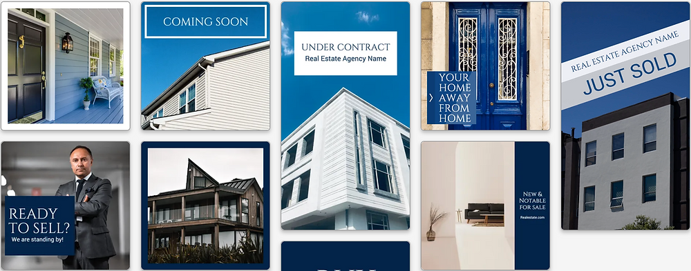 Real estate Facebook and Instagram ad templates