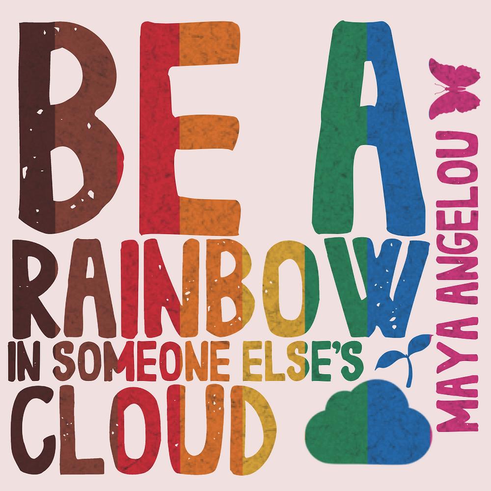 Rainbow social media post templates