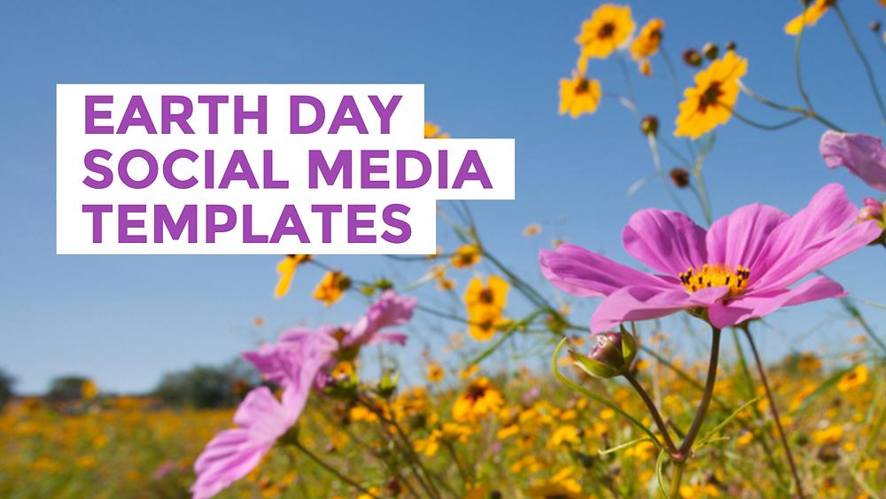 Earth Day social media templates
