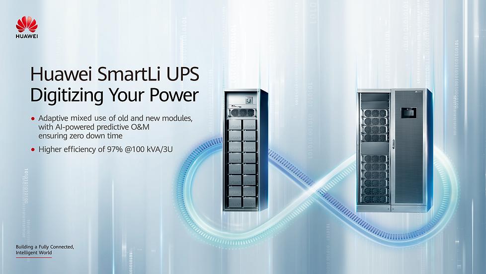 Huawei SmartLi UPS Poster (Why Huawei Sm