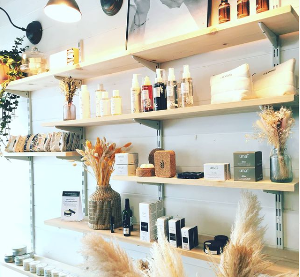 Beauty store clean & green